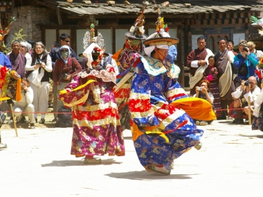 Mask Dance during the Festival
