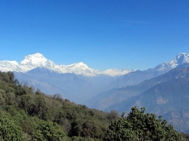 Dhaulagiri, Tukuche Peak, Dhampus Peak and Nilgiri