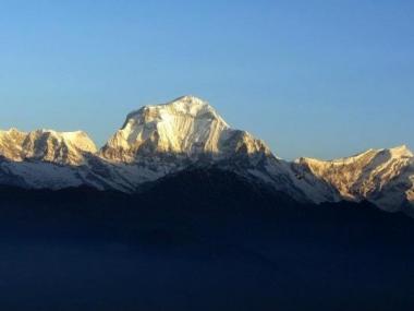 Dhaulagiri seen from Poon Hill