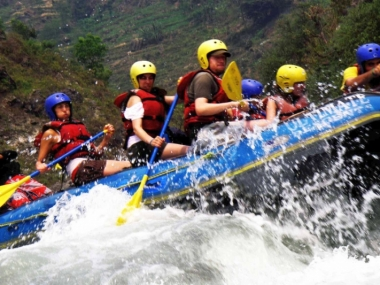 Whitewate Rafting in Nepal
