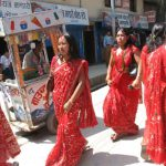 Celebration in Red – Teej Festival at Pashupatinath Temple