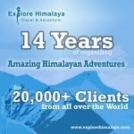 Explore Himalaya – Celebrating 14 Years!