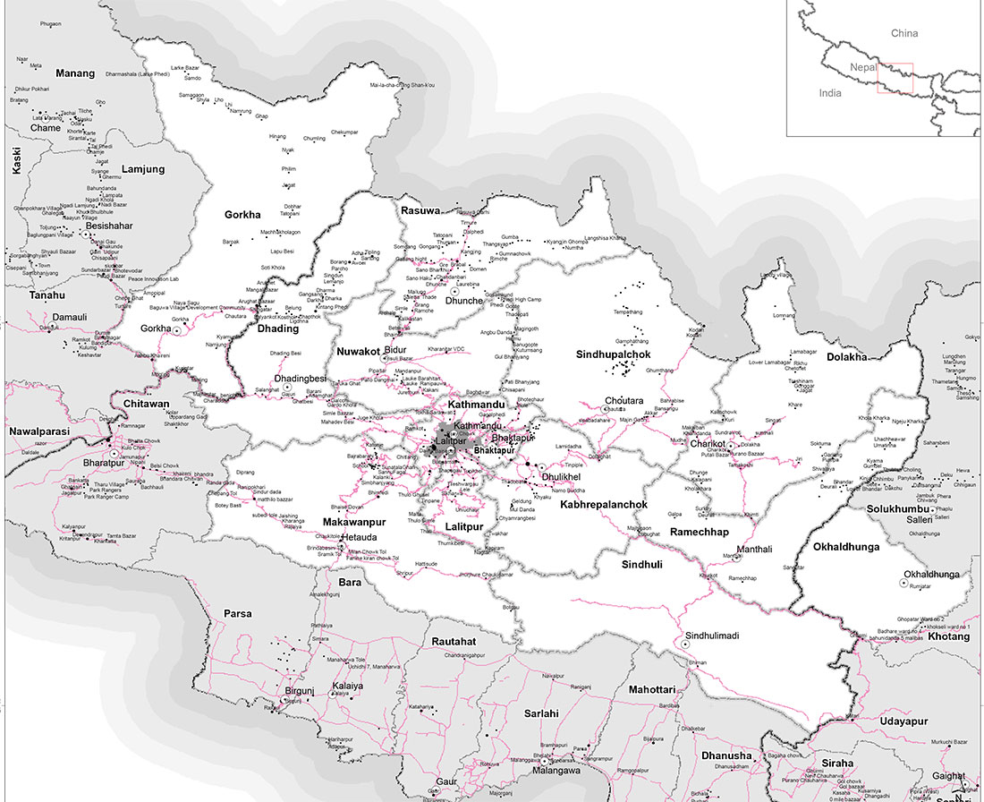 nepal earthquake affected areas