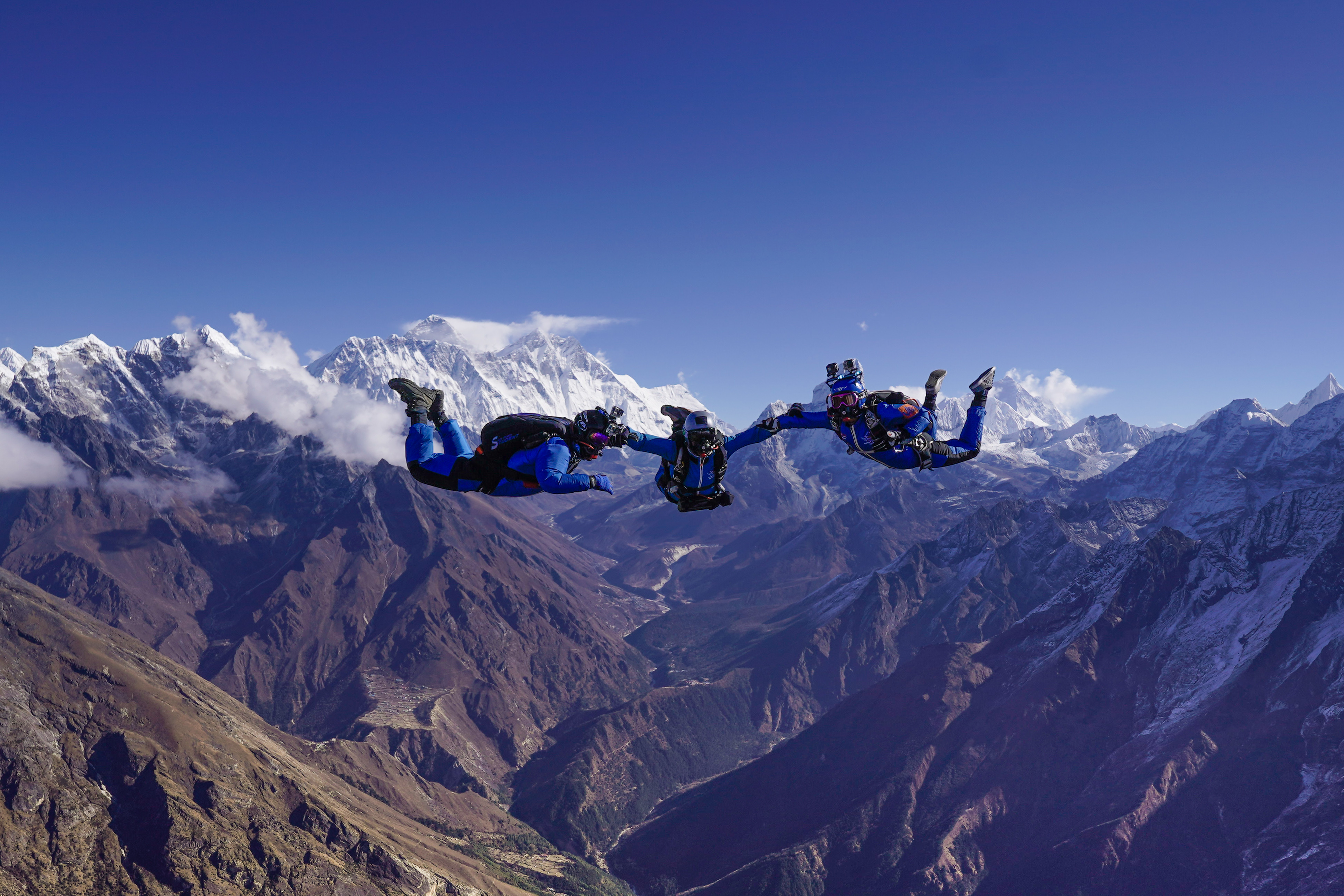 Everest Skydive 2017