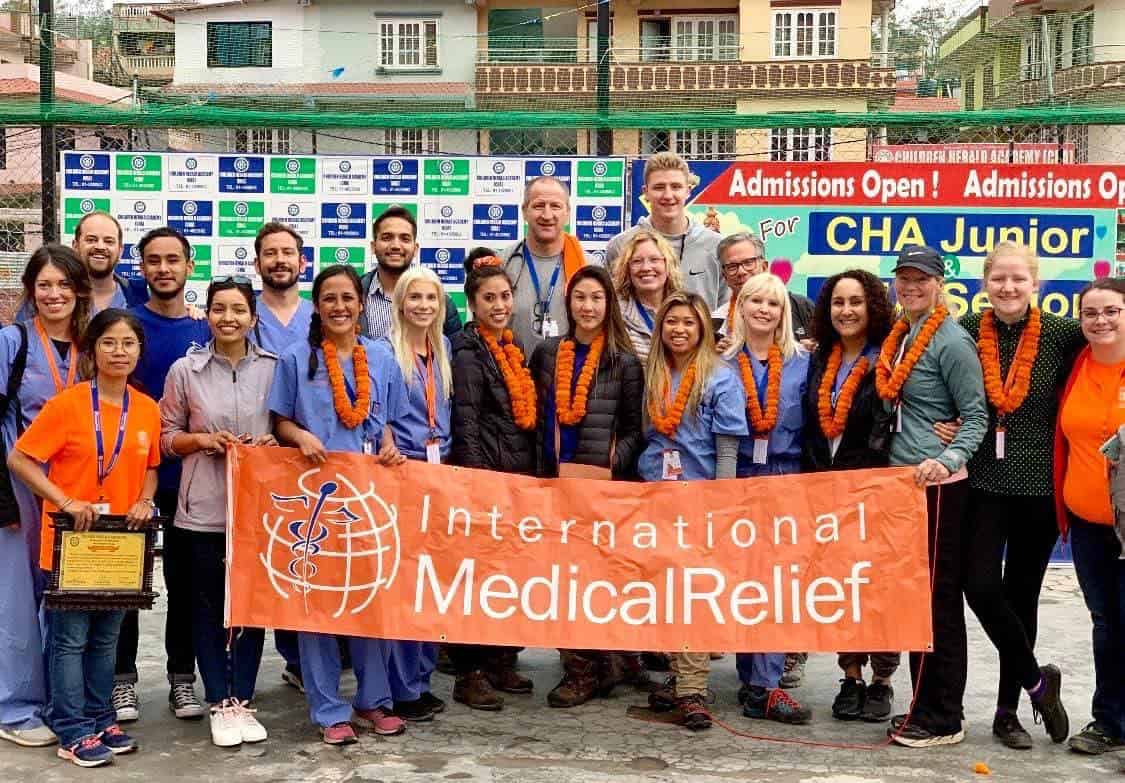International Medical Relief camp