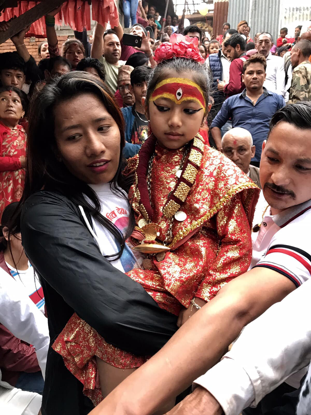 Living Goddess Kumari of Nuwakot