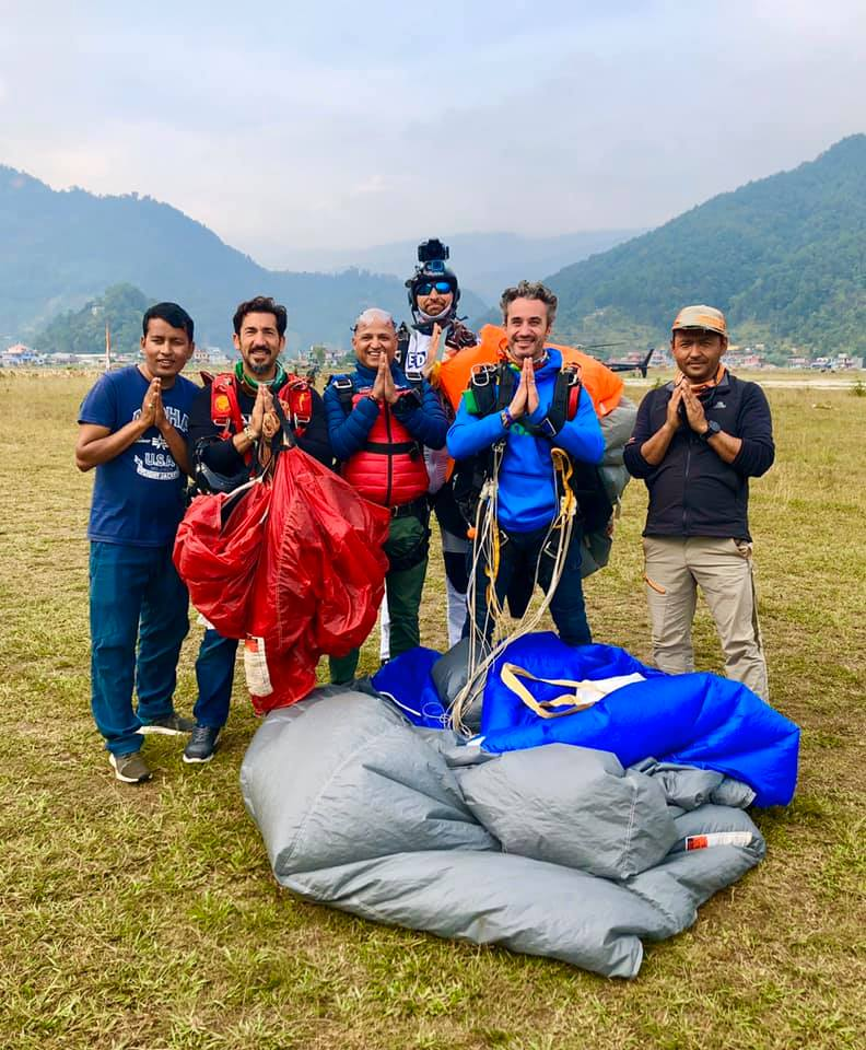 Pokhara Skydive new