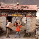 Everest Skydive & Global Angels Aid for Khumjung School's Computer Education project