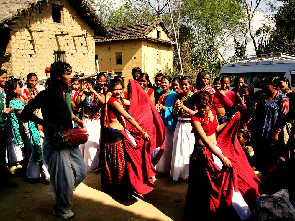 Traditional Tharu Dance