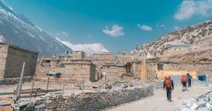 Khangsar Village Annapurna Circuit Trek