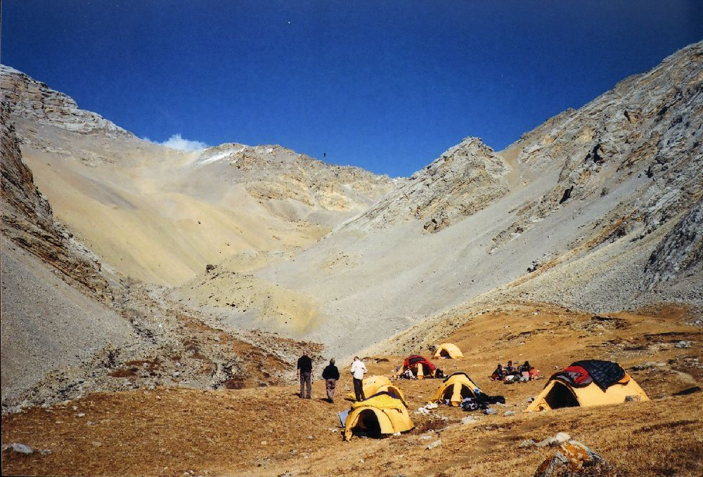 Camps all set, let us walk uphill and see whats there? Upper Dolpa Trek