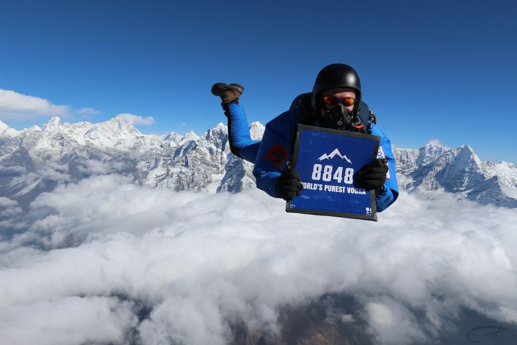 Everest Skydive 2015