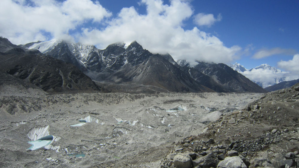 The Khumbu Glacier