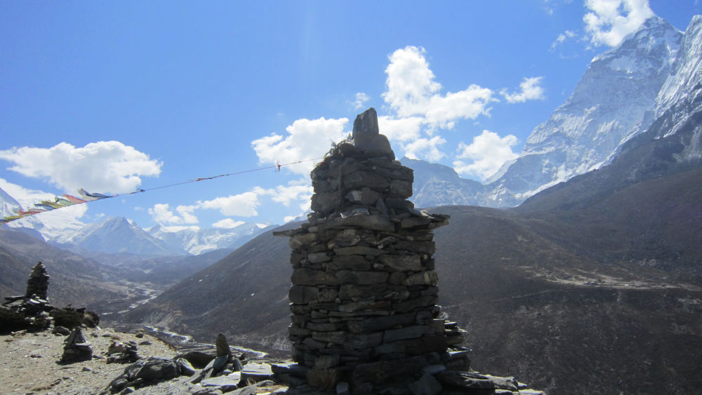 Dughla Pass 4800m- Way to Lobuche