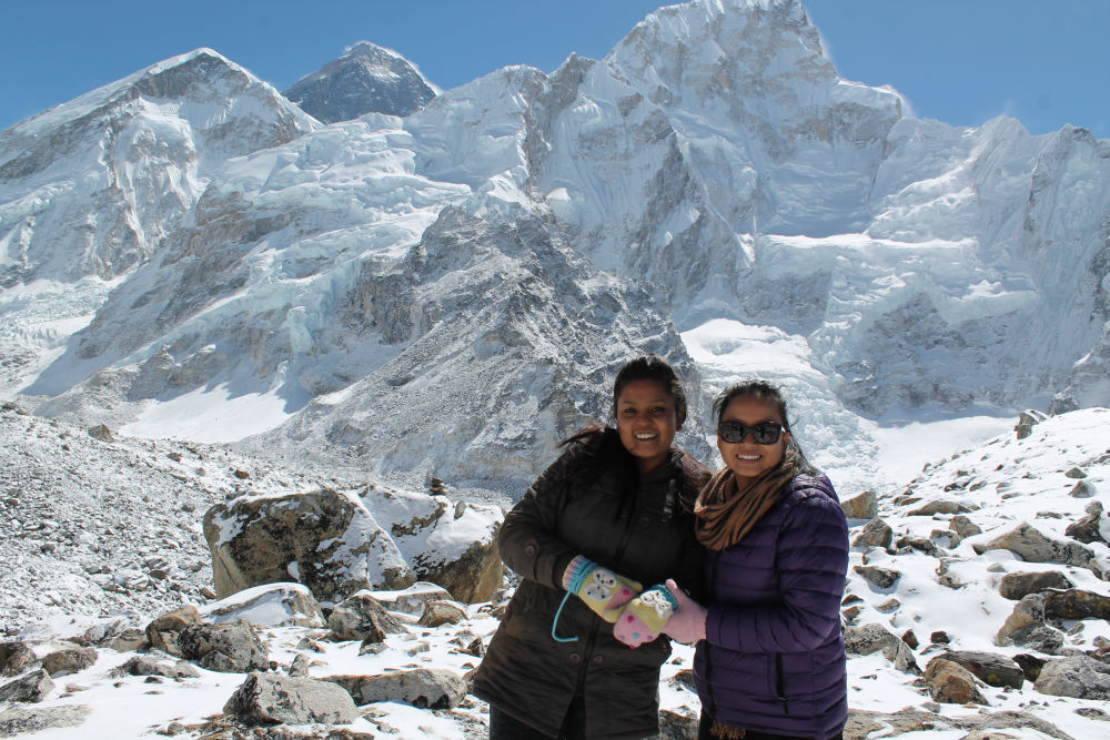 Explore Himalayans experiencing boundless joys - at Everest