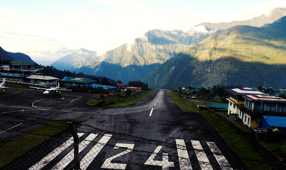 Everest Base Camp Trek- Lukla Airport gateway to world's highest peak