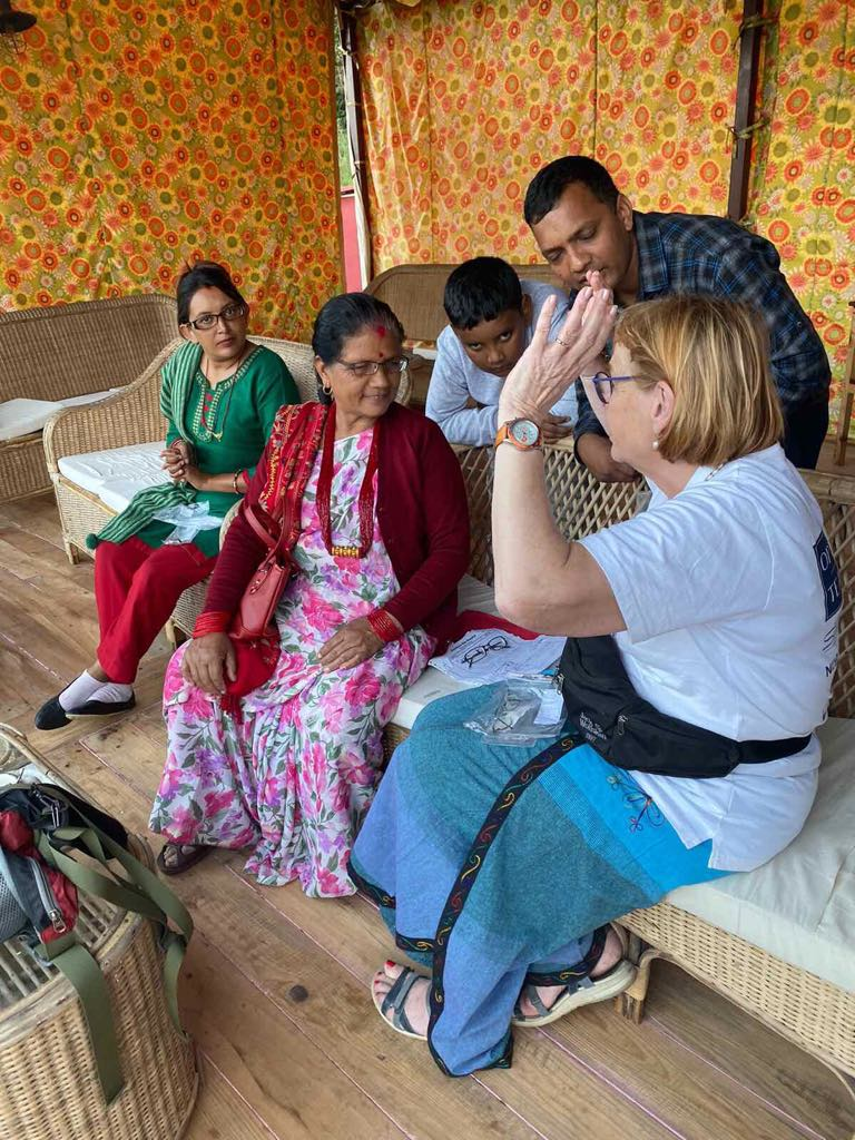 Eye Camp at Kaski Begnas Camp