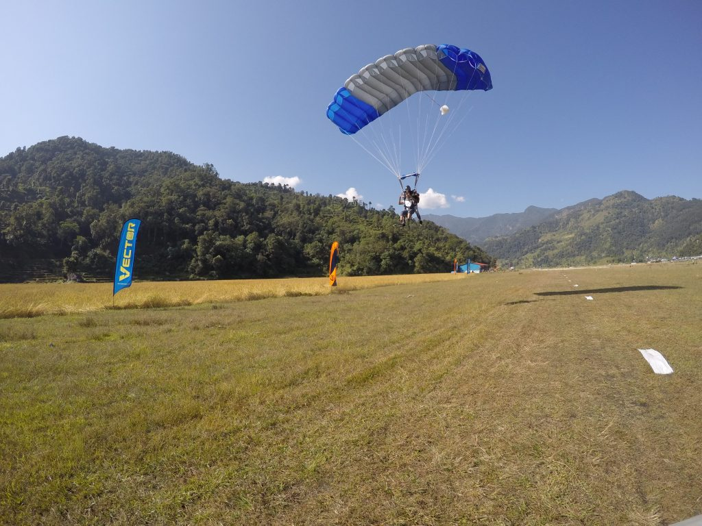 Back to where we belong!! Pokhara Skydive