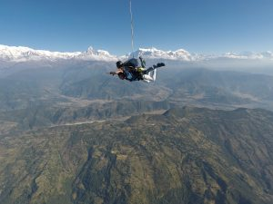 Flying doesn't need wings, all you need is the mind of a bird! Pokhara Skydive
