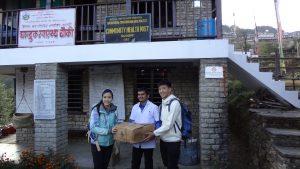 At Ghandruk Health Post