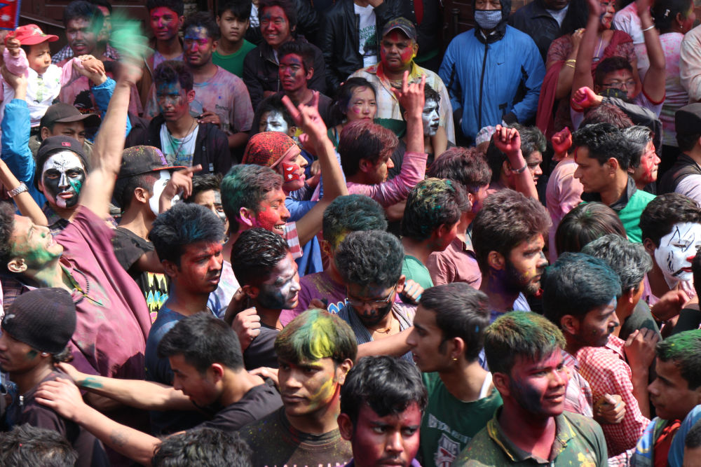 Colors, music, water and dance- WOW Holi