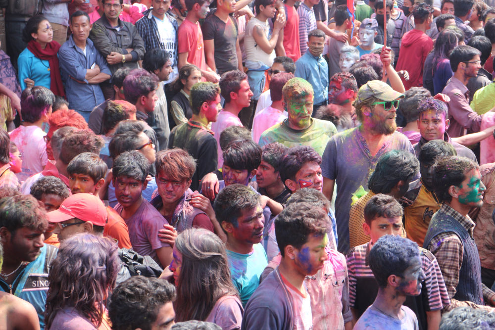 Nepali or foreigner- Everyone celebrates Holi