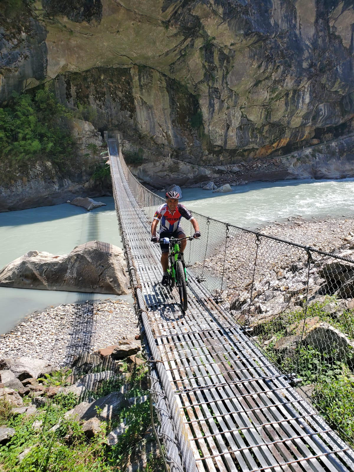 Chef in Cycling around Annapurna3