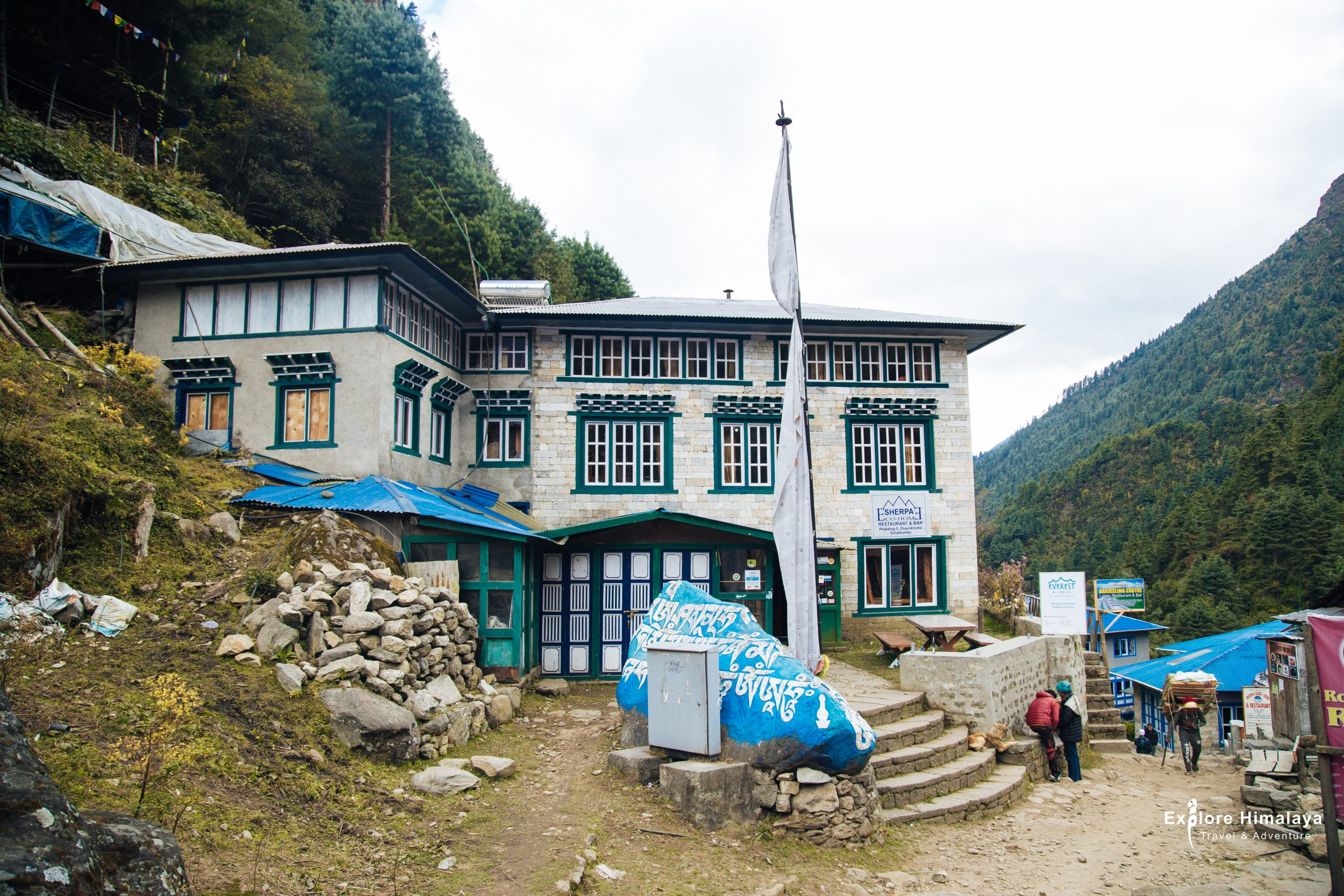 Teahouse in Everest region