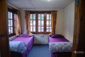 accommodation in teahouses