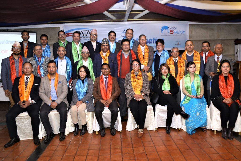 Elective Members of PATA Nepal Chapter