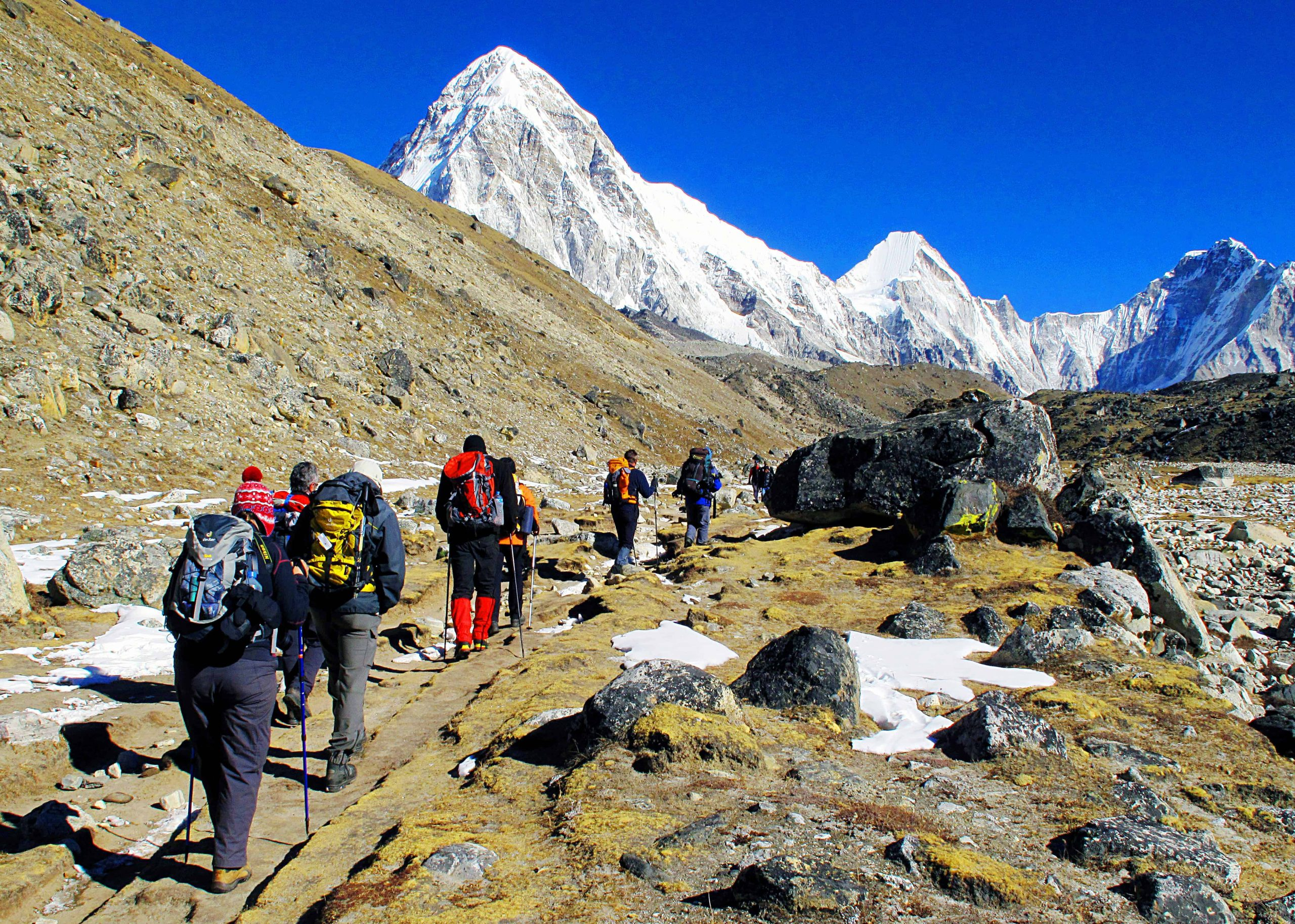 Everest Base Camp Trekking Lobuche to Gorek Shep