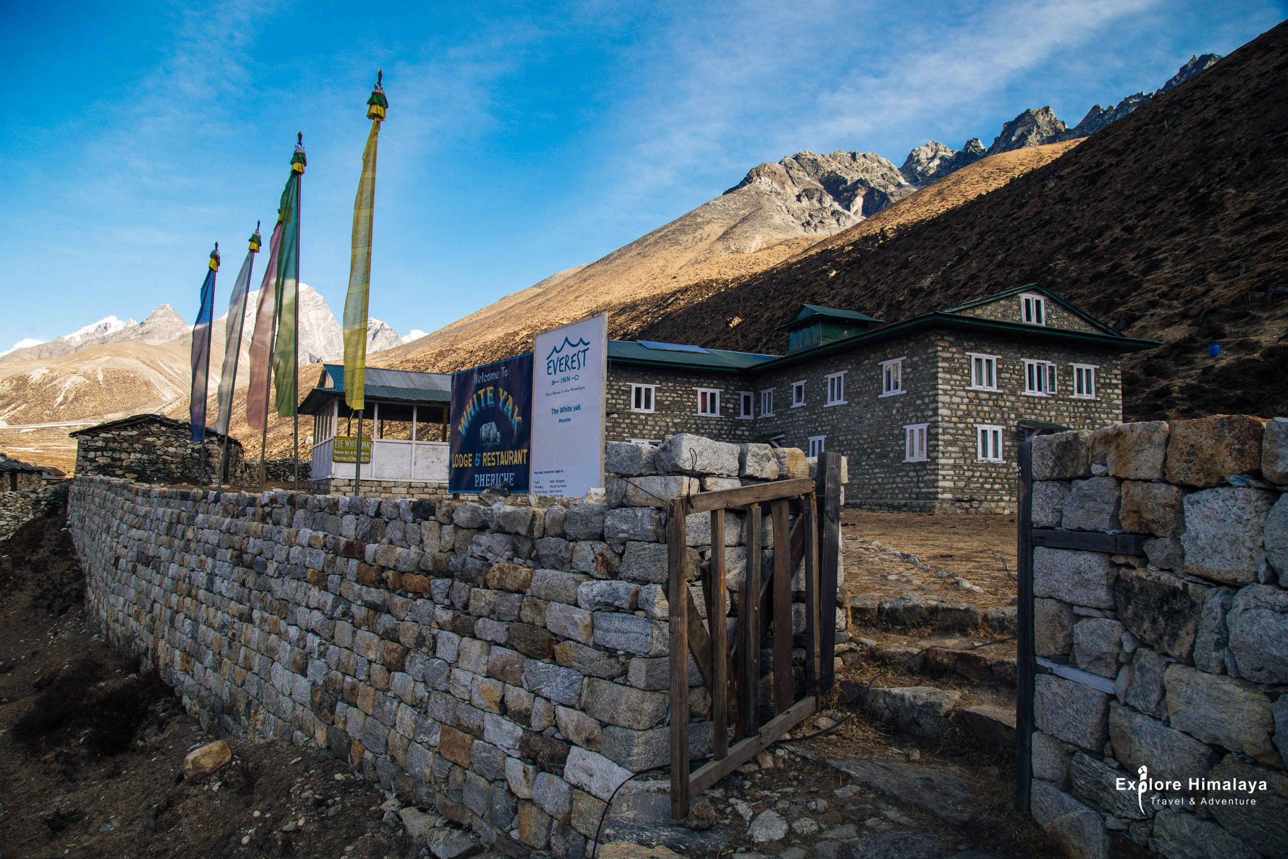 Teahouses while trekking in Nepal