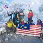11 Malaysians at Everest Base Camp