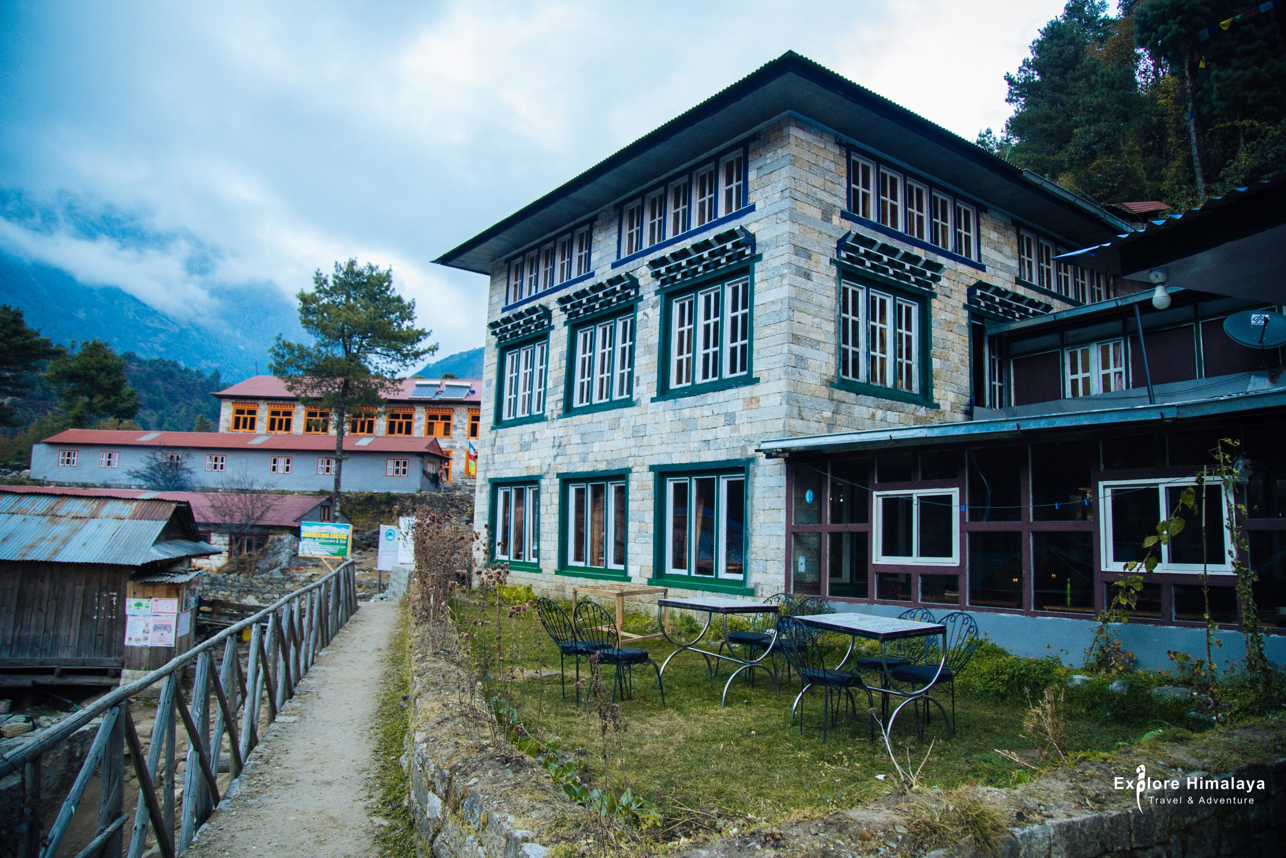 Accommodation in Everest Base Camp trek - A Tea House in Monjo