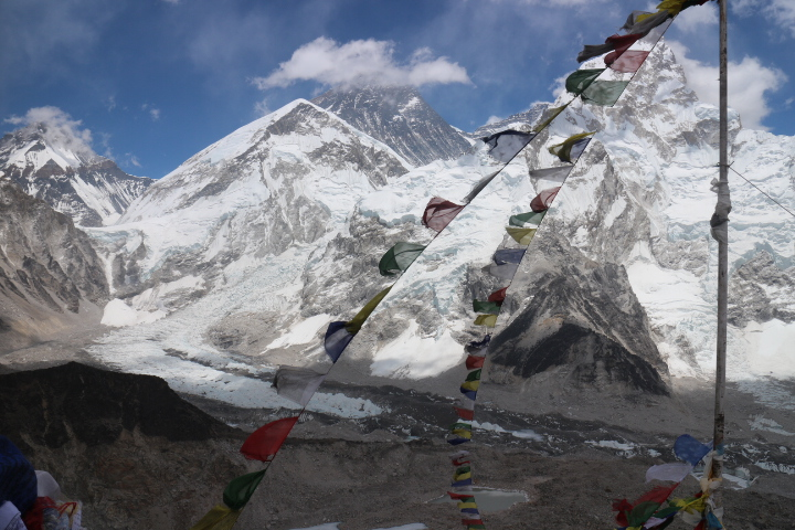 Himalayan landscapes of Khumbu