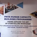 Human Capacity Building Program organized by PATA and Nepal Tourism Board