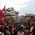 Indra Jatra 2015 – the major celebration in KTM Durbar Square after quake 2015