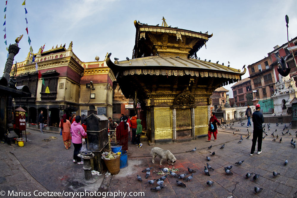 Household and religious activities inseparable in Nepal
