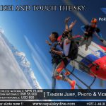 Skydive in Nepal is next