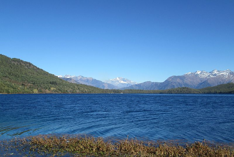 Rara Lake inside the Rara National Park
