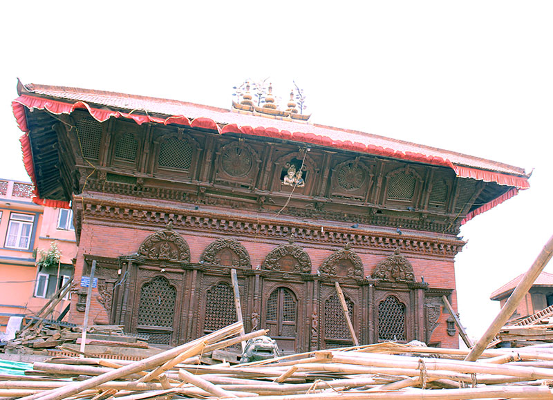 Shiva Parvati Temple- still stands tall and can be renovated