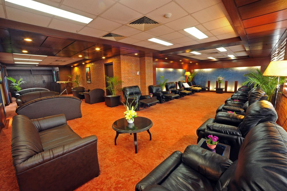 Sleeping Area in Airport Executive Lounge
