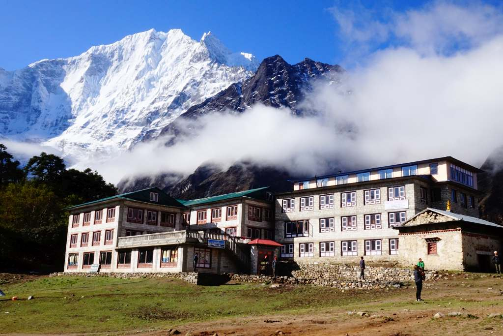 Tengboche best mountain viewpoints of Nepal