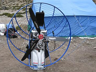 The GKN mission paramotor