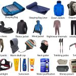 Trekking Gear List for Everest Base Camp Trek