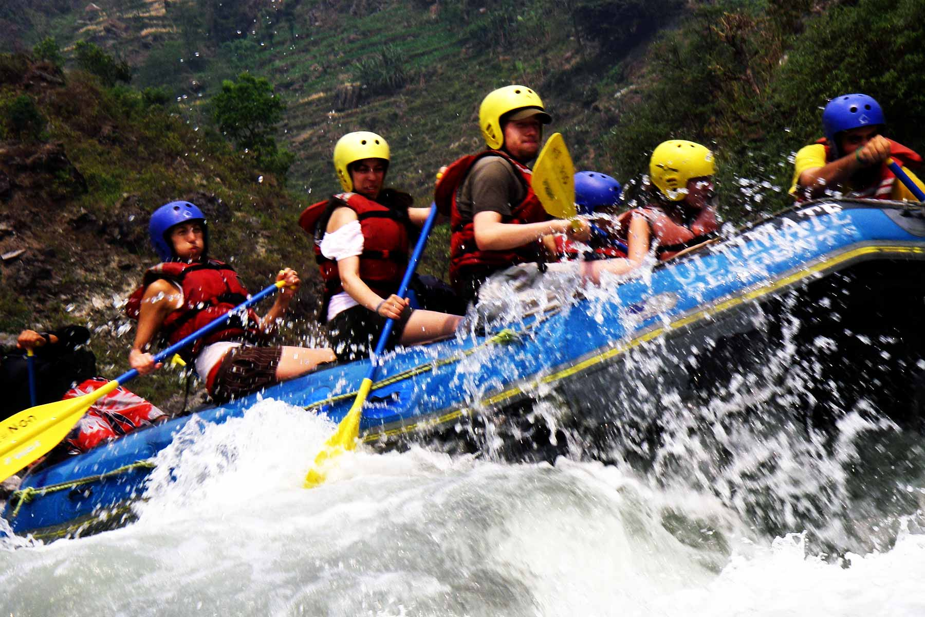 water adventures in nepal