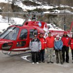 Fishtail Air's Team at Air Zermatt
