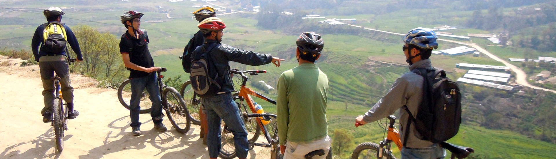 Biking Around Kathmandu Valley