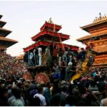 "Bisket Jatra in Bhaktapur- ""A culturally adventurous festival, which takes you deep into well preserved heritage sites of the newar community in Bhaktapur"""