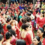 Teej festival- the largest celebration of Hindu women in Nepal
